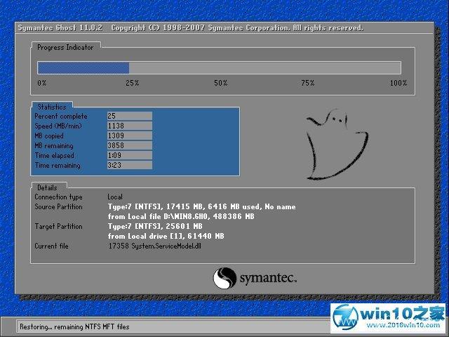 雨林木风 Ghost Win10 64位 纯净版 v2020.02