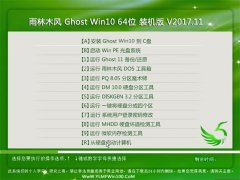 雨林木风 Ghost Win10 64位 装机版 v20