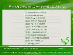雨林木风 Ghost Win10 64位 纯净版 v2017.11